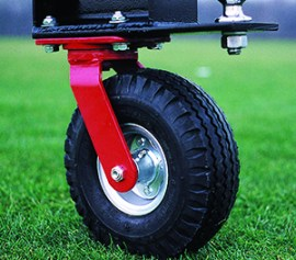 golf ball picker A-frame wheel