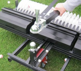 golf ball picker ball hitch