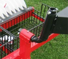 commercial golf ball range picker swivel joints