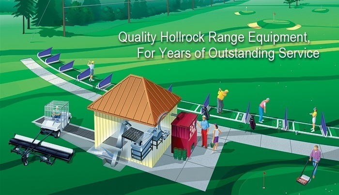 Hollrock Engineering quality golf driving range equipment