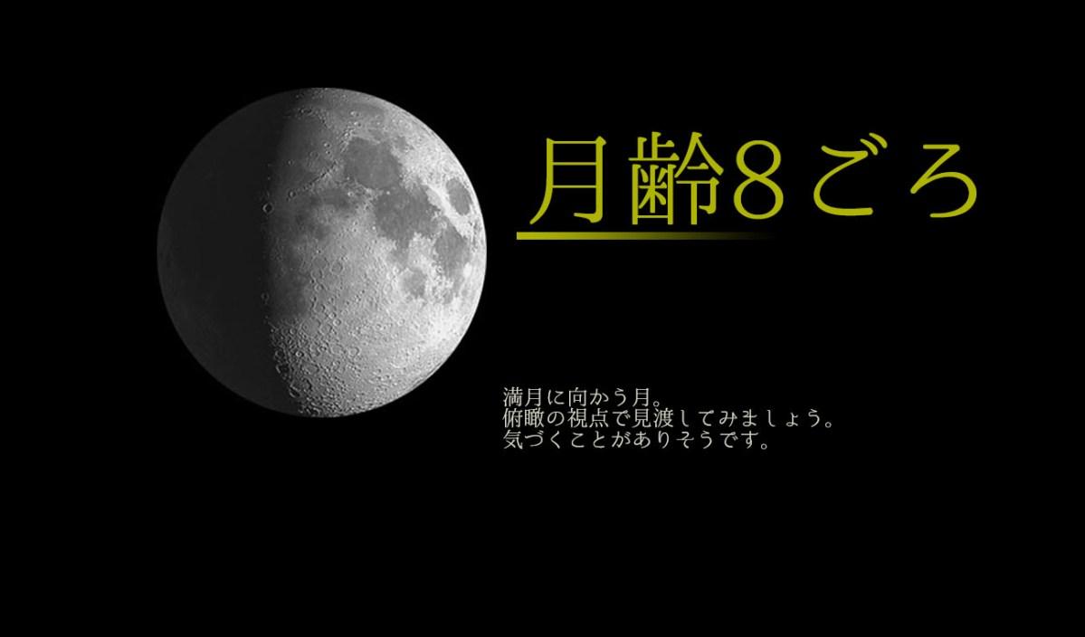 2018/8/19*射手座の月