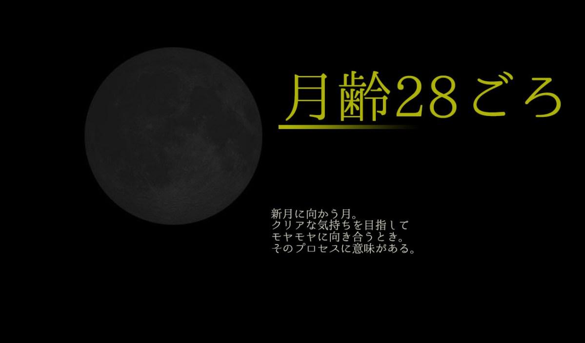 2018/7/11*双子座の月