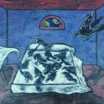 bed-full-of-blackbirds-12x18