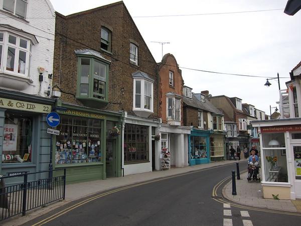 High Street near the harbor