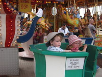 But now Flora wants the merry go round, of course