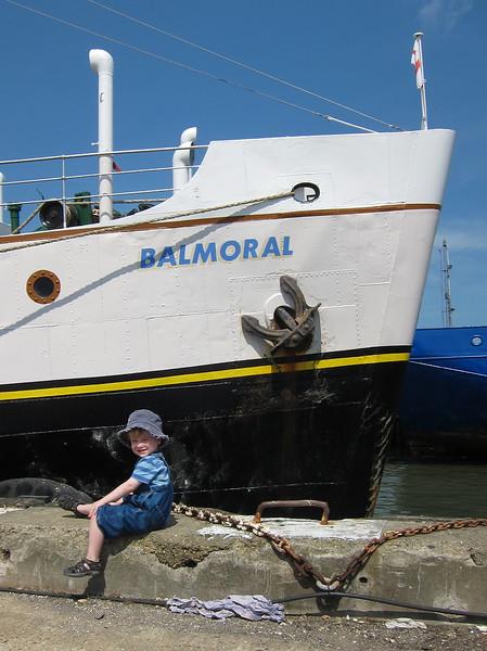 The MV Balmoral!