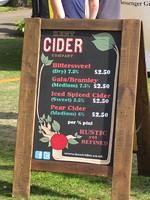 Hard cider - yum