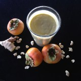 persimmon cashew smoothie