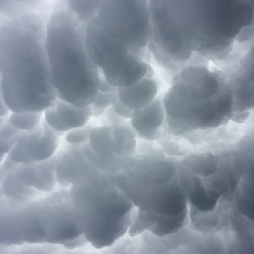 Some of the crazy clouds we've seen recently. Ready for the hail and tornado warnings to cease.