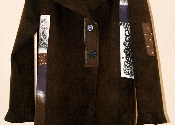 Brown K-Nette Wool Coat
