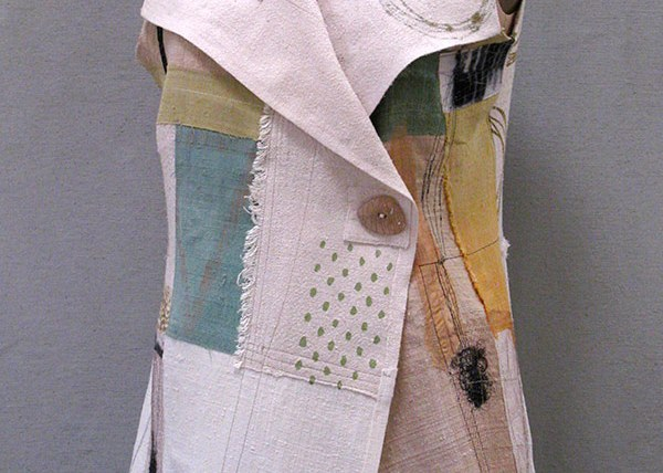 Long Neutral K-Nette Vest