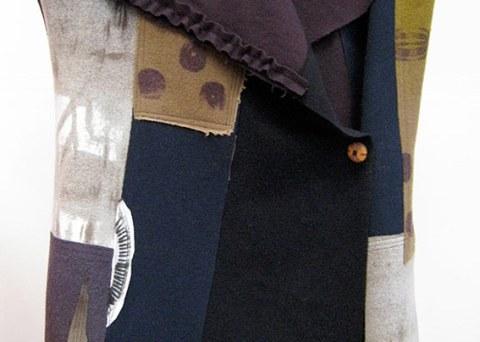 Wool K-Nette Patch Vest