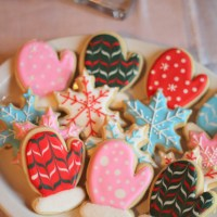 Mitten Sugar Cookies [tutorial]