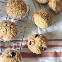 Cranberry Zucchini Muffins