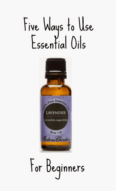 5 ways to use essential oils for beginners