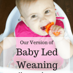 Our Version of Baby Led Weaning with Grabease Utensils