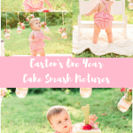 Easton's One Year Cake Smash Pictures