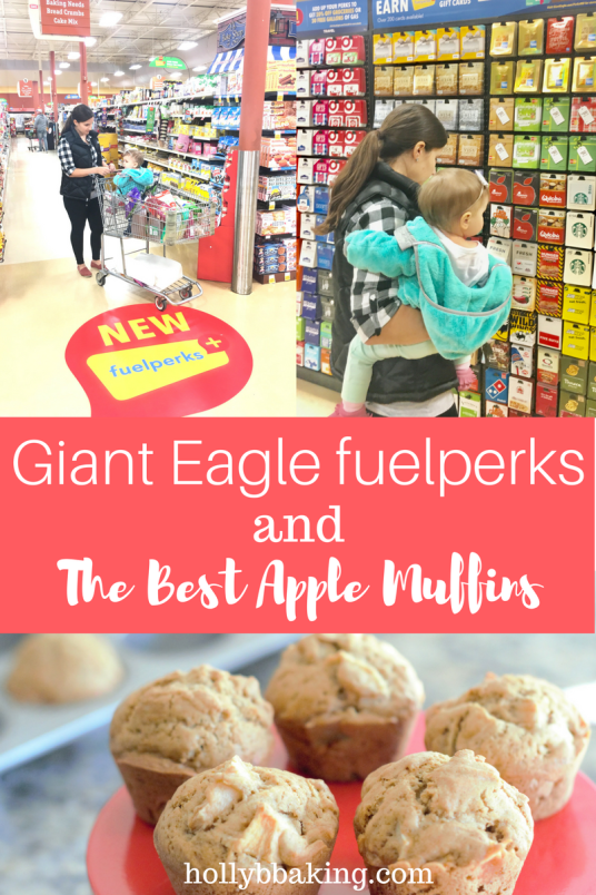 giant eagle fuel perks and the best apple muffins