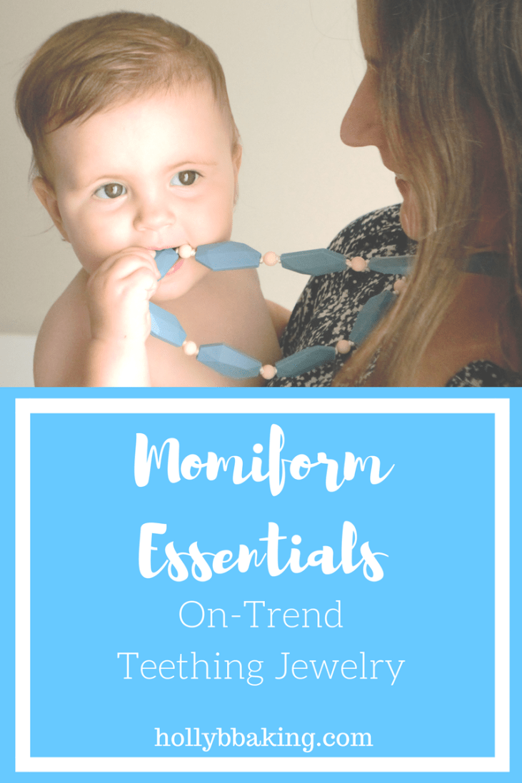 Momiform Monday (and a Giveaway): Teething Jewelry that Doesn't Compromise Your Style