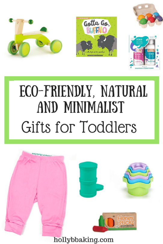 eco friendly gifts for toddlers