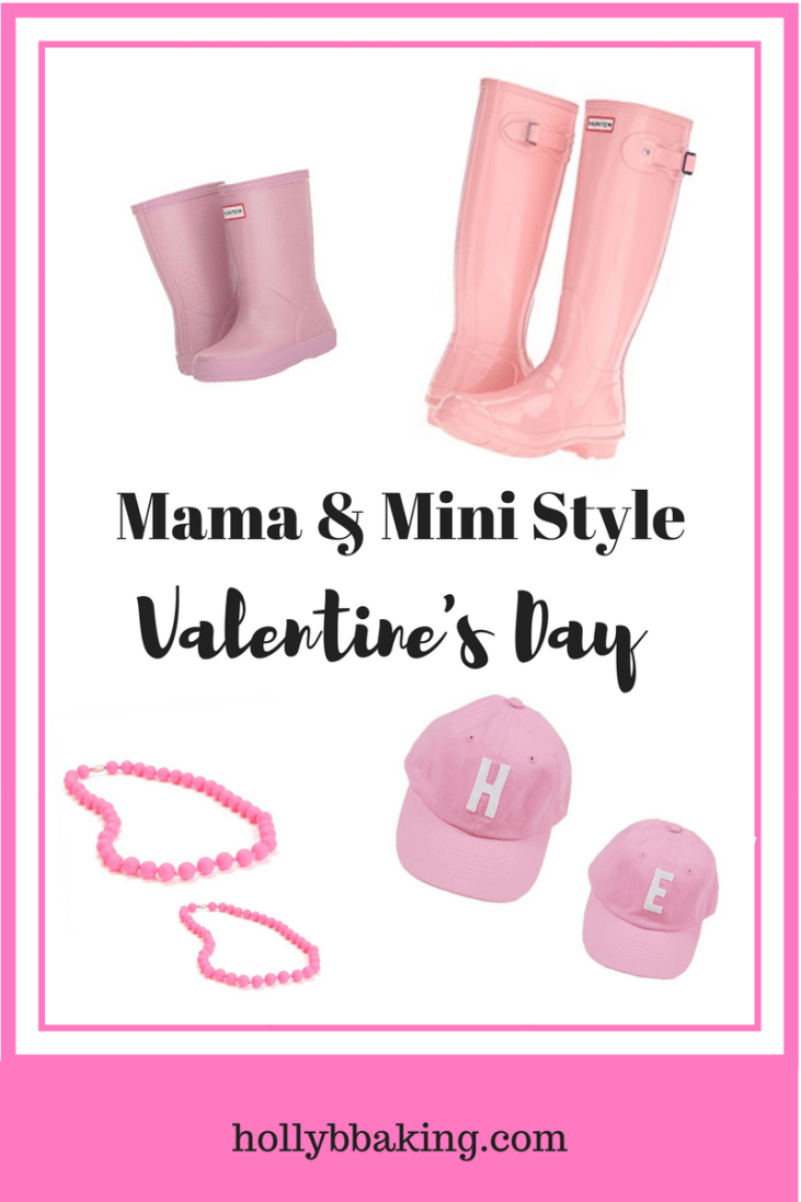 Momiform Monday: Mama and Mini Style Valentine's Day Edition