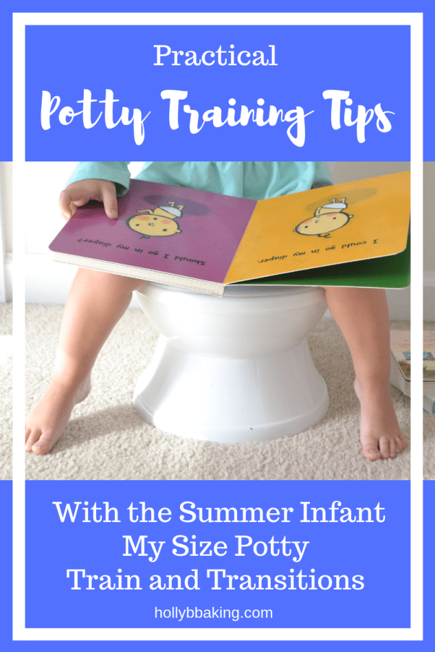 Potty Training Tips for Stubborn Toddlers with Summer Infant My Size Potty Train and Transition