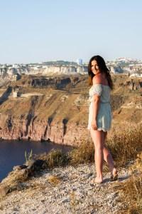 Cliff Side in Greece
