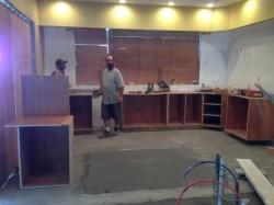 kitchen cabinets...