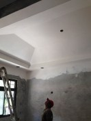 drywall in the rec room