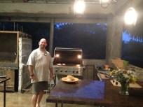 Scotts new outdoor kitchen!