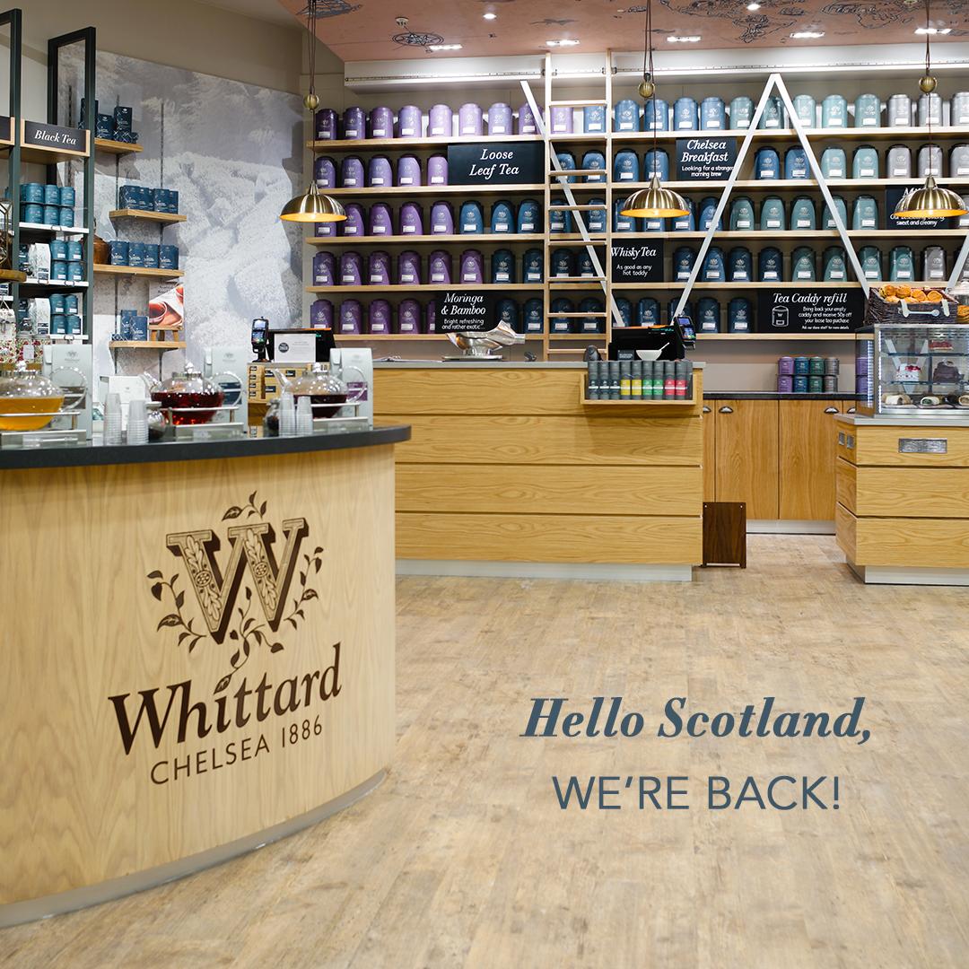 Whittard of Chelsea Hello Scotland