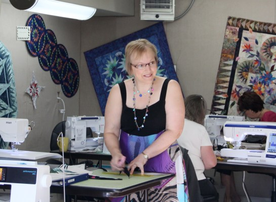 This is Ardelle - she is a very accomplished long-arm quilter, mother of 3 and beautiful wife of Roger!