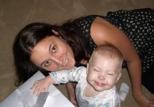 Brittney with my first grandchild!