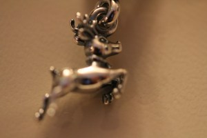 The grandkids gave me charms this year - the one was from Mr. B