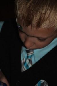 This little man is so dang precious!