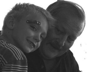 Grandpa and Mr. B