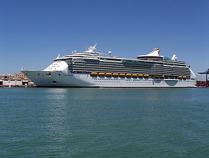 The beautiful Navigator of the Seas