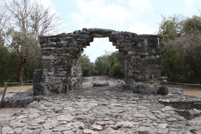 We chose a short Mayan Ruins tour and scenic overview.