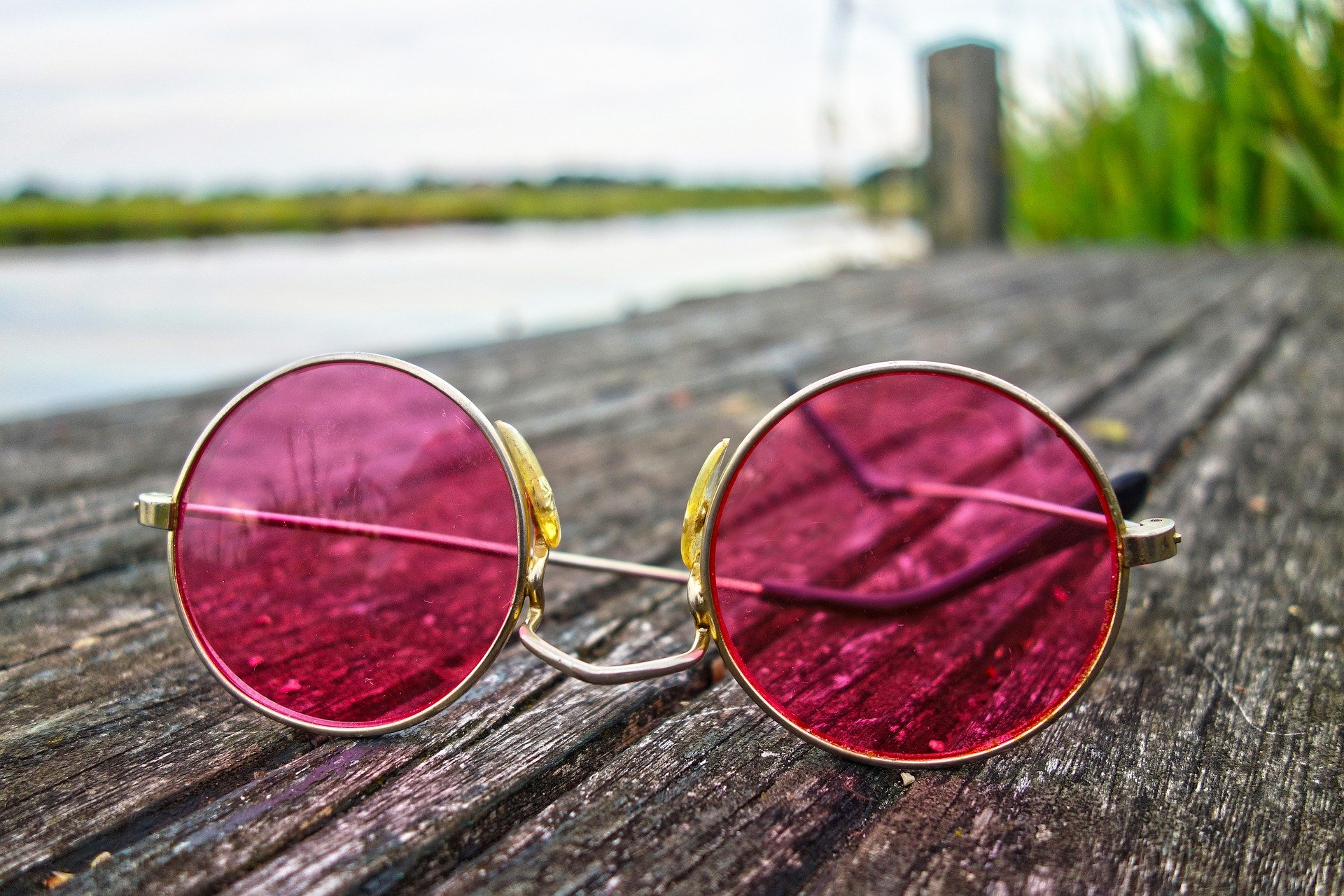 My Rose Colored Glasses God's Vision is Best