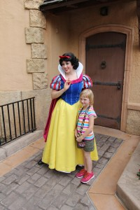 Little Toot meets her Snow White!