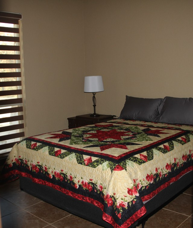 All the beds have quilts and ready for our overnight guests