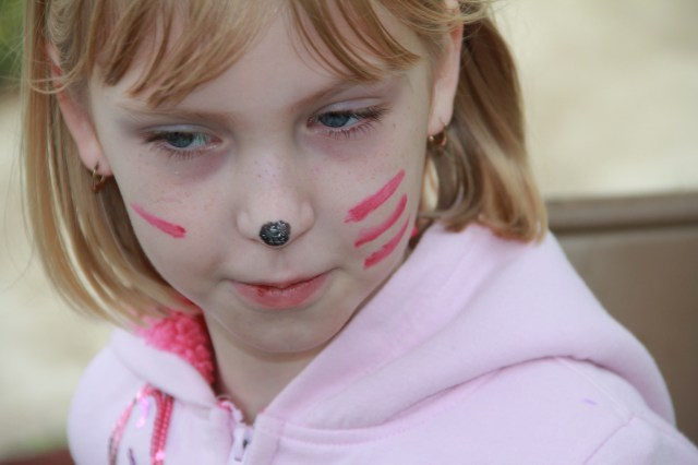 Face painting is a must!