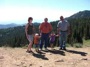 Family time in Utah