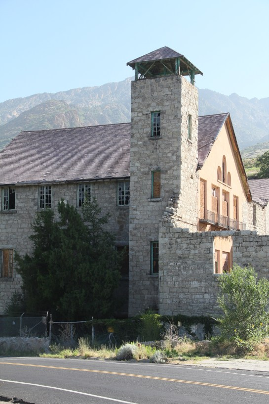 The Old Mill in Holladay, UT - what a great old building - I sure wish it could be restored!