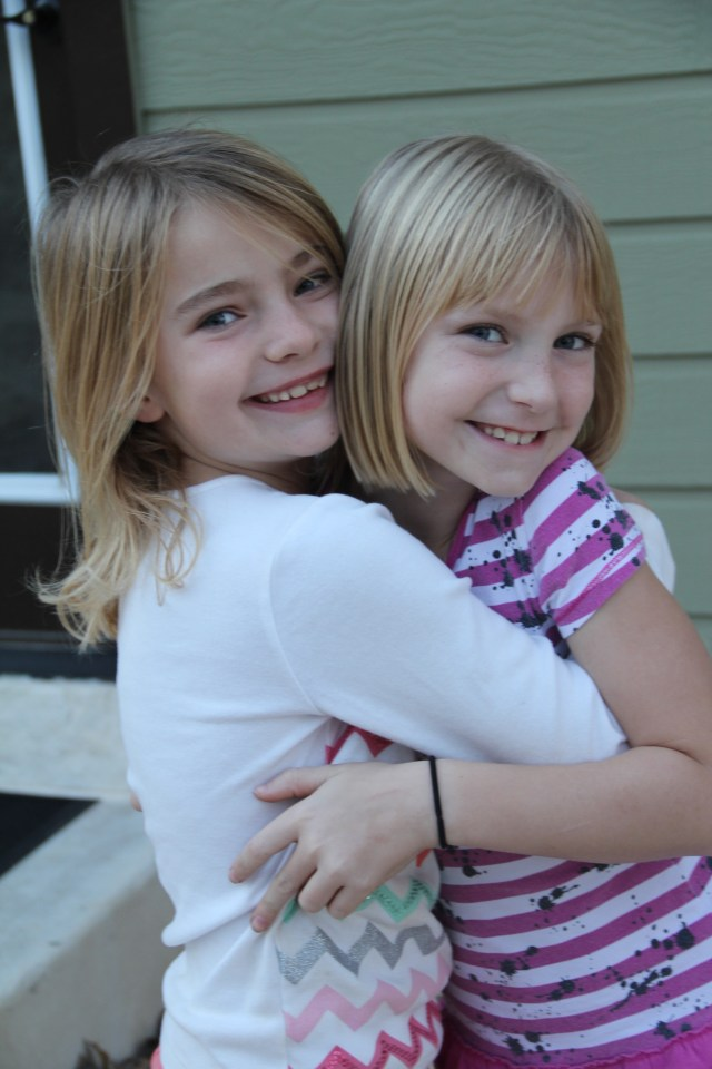These cousins will be life-long buds I am thinking!  You should've seen the tears and sadness when they said goodbye!