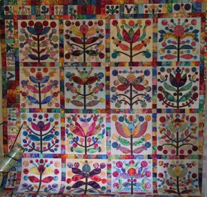 The overall quilt - see - it makes you happy!