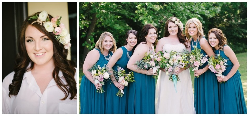 HAIR & MAKE-UP BY HALEY SNODDERLY / FLORALS BY EVER SOMETHING / PHOTOGRAPHS BY EMILY ANN HUGHES
