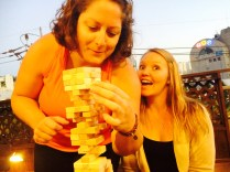 The most intense game of Jenga ever.