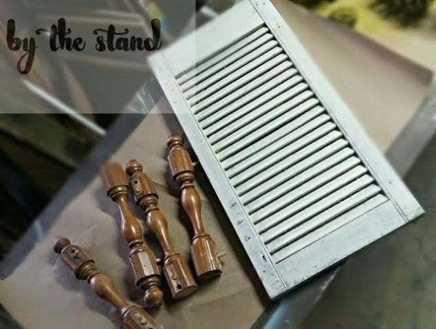 DIY Shutter Table