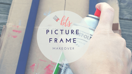 Cheap Picture Frame Makeover